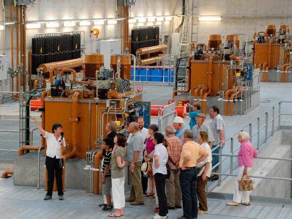 Rheinfelden: Besichtigung des neuen Kraftwerks
