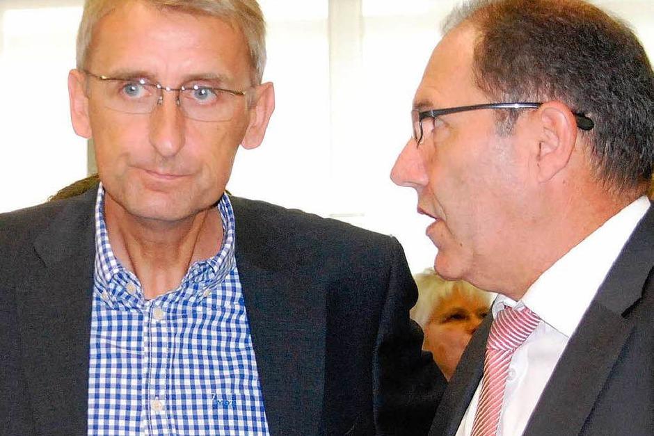 Beim Sparkassenempfang (Foto: Ralf Staub)