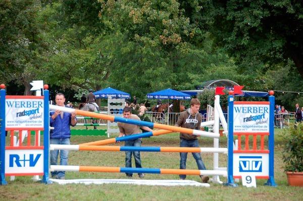 Ross, Reiter und die Zuschauer schnupperten drei Tage lang Turnierluft.