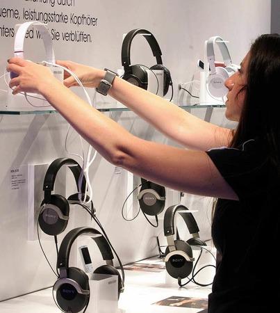 Digitale Kopfhörer.