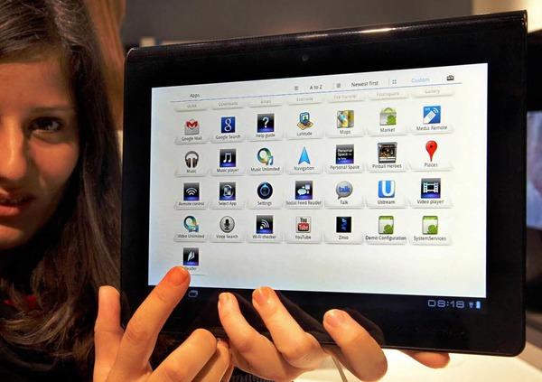 Konkurrenz für das iPad? Der neue Tablet-Computer von Sony.