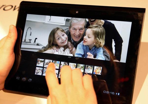 Tablet-Computer stehen auf der Messe wieder einmal im Mittelpunkt.