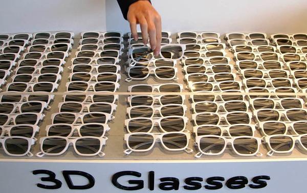 Wichtig, um das Angebot von 3D-Fernsehen richtig wahrnehmen zu können: 3D-Brillen.