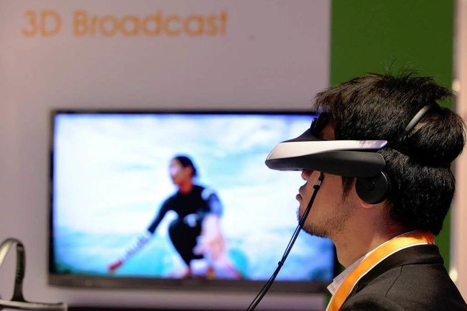 Virtuelle Vorführung in 3D. (Foto: dpa)