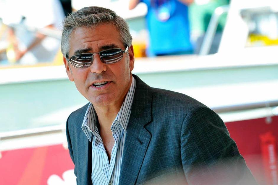 """Sein Film """"Die Iden des März"""" eröffnete die Filmfestspiele: George Clooney führt darin Regie und spielt die Hauptrolle. (Foto: AFP)"""