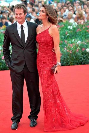Gute Freunde von George Clooney: US-Topmodel Cindy Crawford und Ehemann Rande Gerber.
