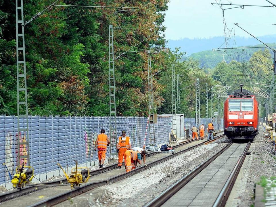 Eine 20 Kilometer lange Bahnstrecke wi...#8211; Nebelhornbeschallung inklusive.  | Foto: Ingo Schneider