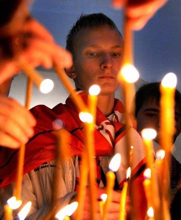 Fassungslosigkeit in Jaroslawl: Die russische Gro�stadt verliert ihre beliebteste und erfolgreichste Sportmannschaft.