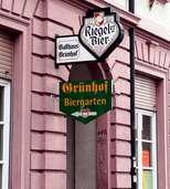 Grünhof: Sandkasten statt Biergarten