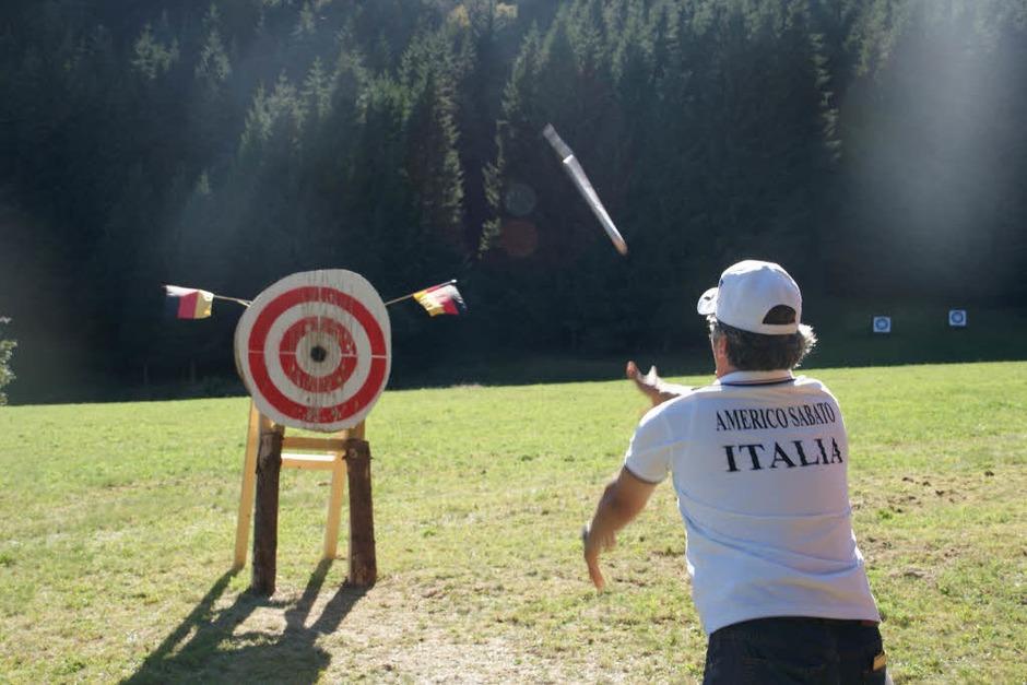 Europameisterschaft im Messer- und Axtwerfen in Herrischried (Foto: Hrvoje Miloslavic)