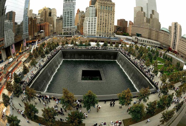 Die Memorial Plaza in Manhattan
