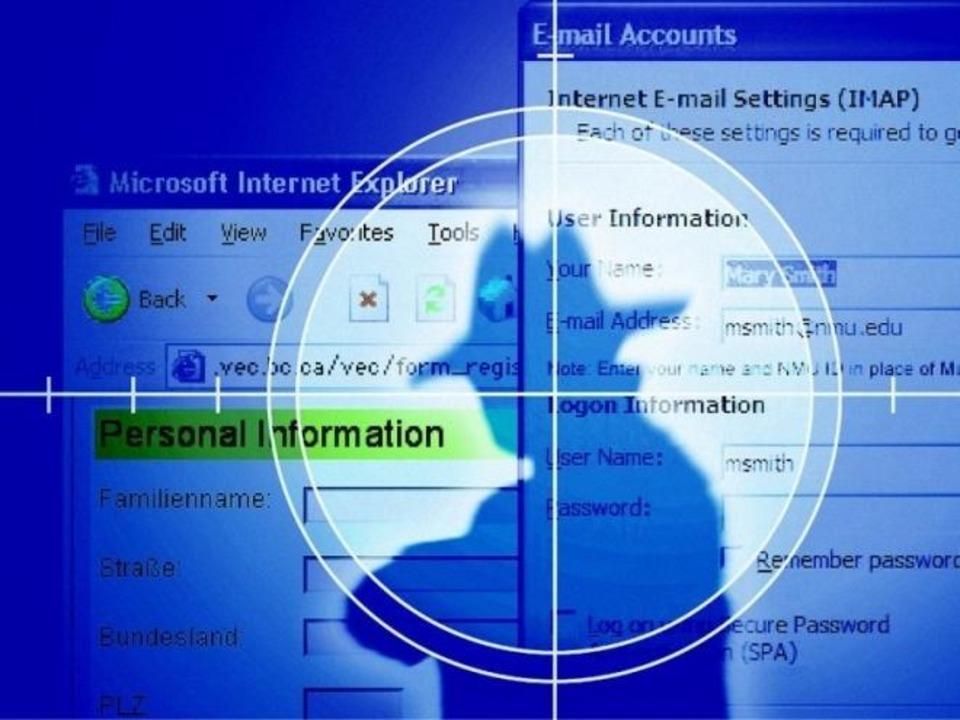 Phishing - Phishing: Kunstwort aus &#8...efälschte Bank- oder Paypal-Webseiten.