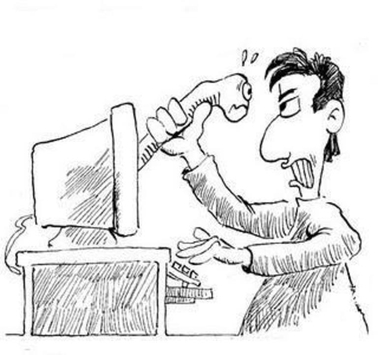 Wurm - Wurm: Vermehrt sich normalerwei...n verteilt oder per E-Mail verbreitet.