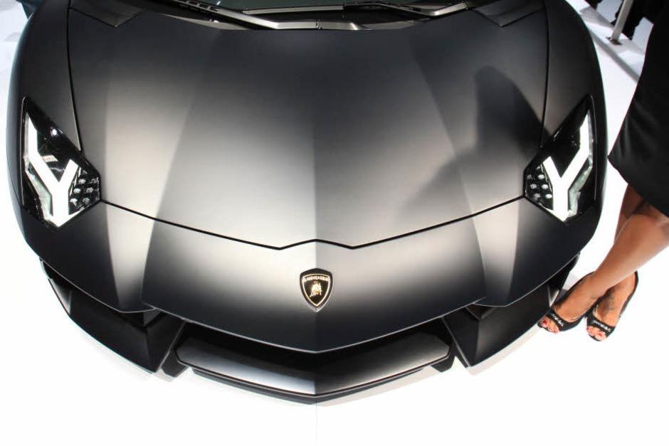 Lamborghini Aventador LP 700-4. (Foto: dapd)