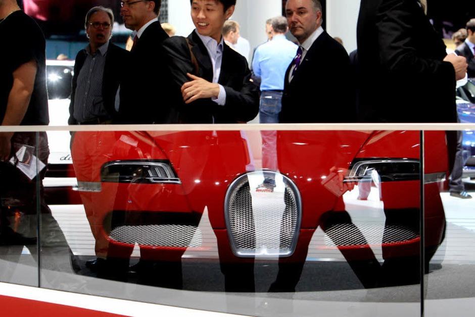 "Bugatti ""Veyron 16.4 Grand Sport"". (Foto: dapd)"