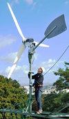 Freiburger will den Wind direkt am Strommast ernten