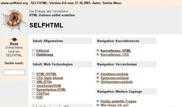 SELFHTML - Stef...