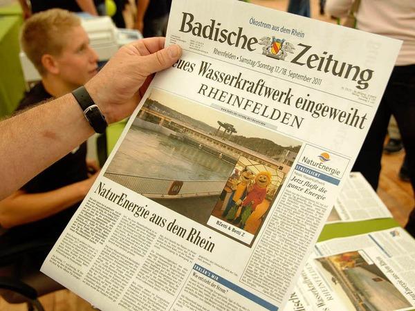Impressionen von den Tagen der offenen T�r im neuen Wasserkraftwerk Rheinfelden