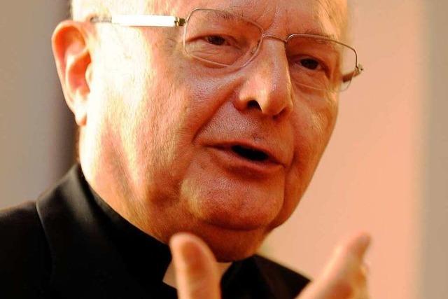 Zollitsch: Papst stellt sich der Frage nach dem lebendigen Christentum