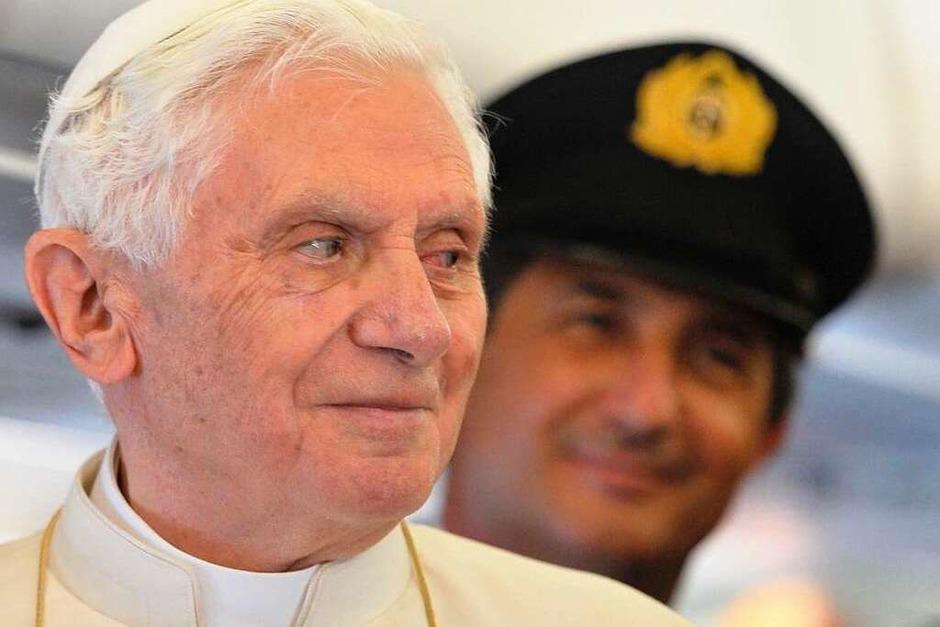 Berlin macht den Auftakt des viertägigen Deutschlandbesuchs von Benedikt XVI. (Foto: AFP)