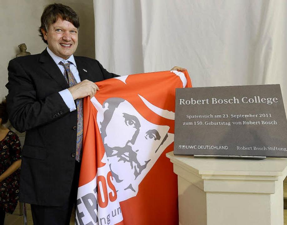 """Christof Bosch, Enkel von Robert Bosch...8211;  """"ein Versprechen"""".     Foto: Ingo Schneider"""