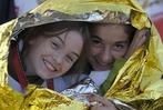 Fotos: Pilger warten auf den Papst