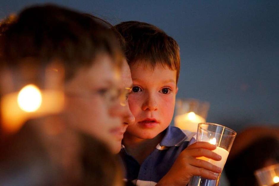 23.000 Menschen feierten am Samstag die Jugendvigil mit dem Papst auf dem Messegelände