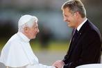 Fotos: Der Papst fliegt von Lahr nach Hause