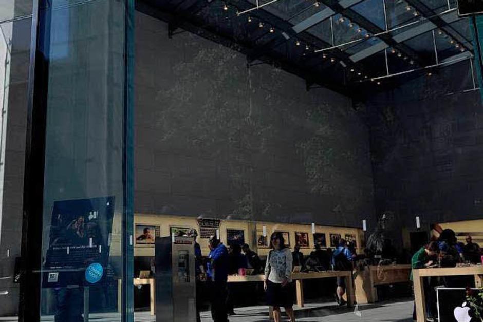 Apple-Store in New York. (Foto: AFP)