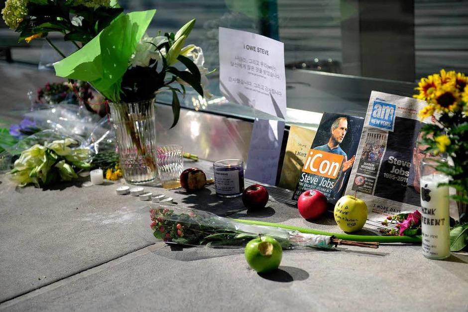 In memoriam Steve Jobs. (Foto: AFP)