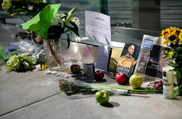 In memoriam Steve Jobs.