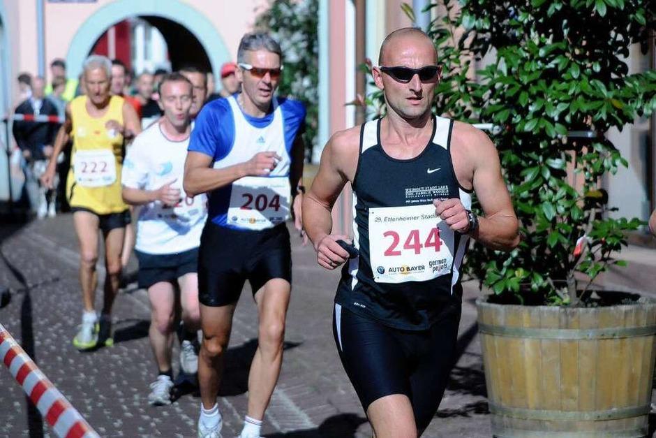 Der Stadtlauf in Ettenheim (Foto: WOLFGANG KUENSTLE)