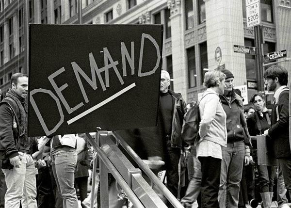 Occupy Wall Street – Beobachtungen im New Yorker Finanzdistrikt.