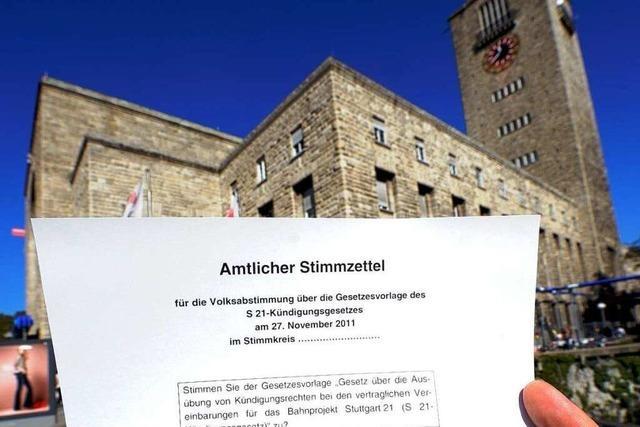 Kretschmann warnt vor Grabenkämpfen wegen Stuttgart 21