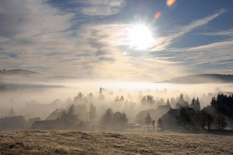 Herbstmorgen in Bernau (Foto: Kathrin Blum)