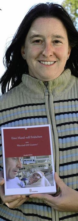 Beschreibt in ihrem Buch eine  extreme...ühchenfamilien helfen:  Claudia Kühne   | Foto: Christiane Weishaupt