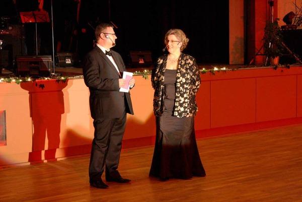 Ina Fuchs und Joachim Obergfell-Fuchs moderierten den Abend.