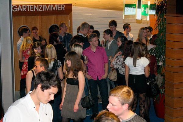 Die Jugend feierte  mit DJ Andy Deluxe im Dancefloor.