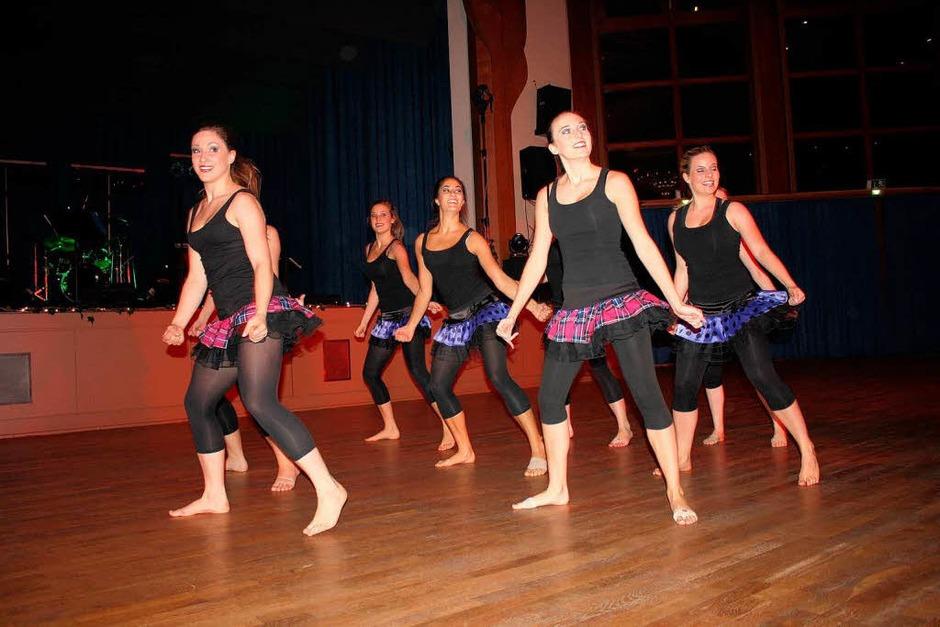 Weltmeisterlichen Modern Dance tanzten die Mädels von Diamond Dust. (Foto: Hans Jürgen Kugler)