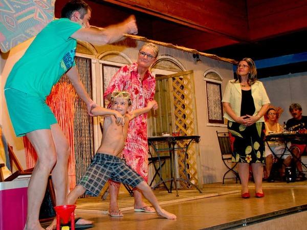 Spannend und vergnüglich war's bei den Theaterabenden der Heilig-Geist-Gemeinde im Pfarrheim.