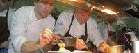 Fünf Sterne bei der Küchenparty