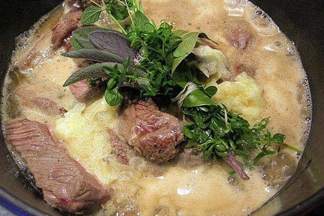 Italienischer Rindfleischeintopf