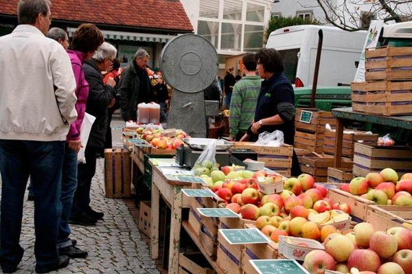 Impressionen vom Martinimarkt in Görwihl