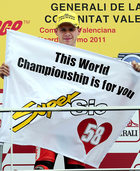 Weltmeister Stefan Bradl hat doppelt Gl�ck