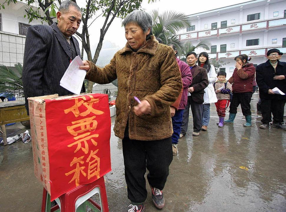 Wahlen in China  | Foto: AFP ImageForum