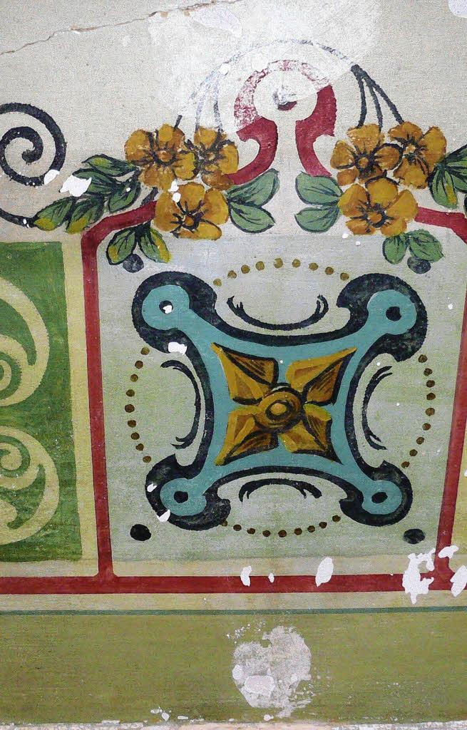 Farbige Tapeten Entfernen : Rosetten, Ornamente, Bilder ? vielf?ltig sind die gefundenen Motive