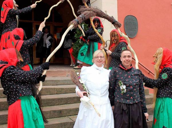 Hochzeit in Ettenheim.