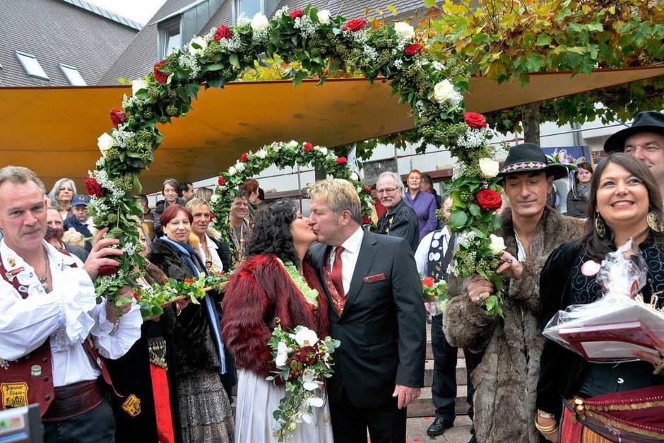 Hochzeit in Neuenburg. (Foto: Alexander Anlicker)