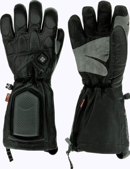 Kalte Finger müssen nicht sein:  Handschuhe der Firma Columbia    Foto: bz