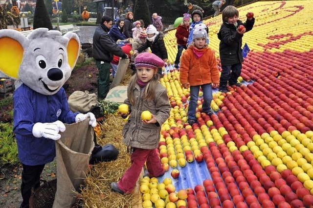 Saft aus 20 000 Äpfeln